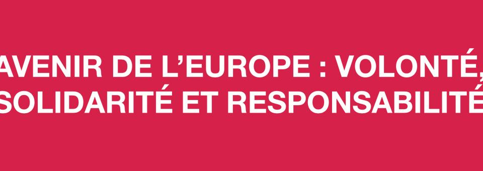 Le Bureau national du Parti socialiste adopte douze propositions pour l'avenir de l'Europe