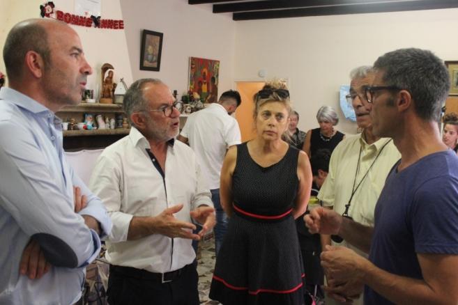 Visite solidaire du député européen Éric Andrieu
