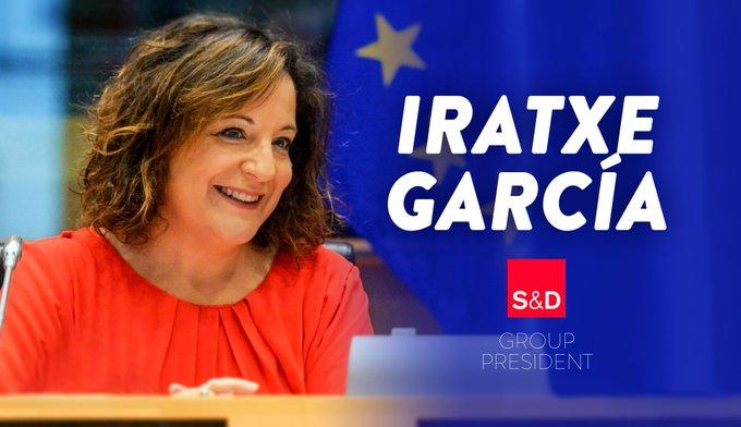 Nos félicitations à Iratxe García Pérez, nouvelle présidente du groupe S&D